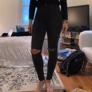 Skinny highwaist jeans